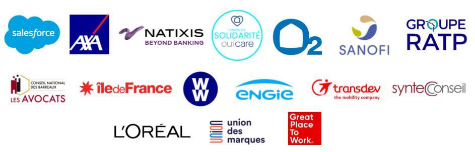 Partenaires Think Tank Marie Claire Agir pour l'Egalité